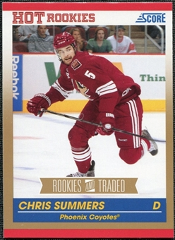 2010/11 Panini Score Gold #645 Chris Summers