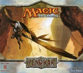 Magic the Gathering Zendikar Fat Pack