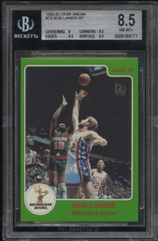 1984/85 Star Arena Basketball #C6 Bob Lanier SP BGS 8.5 (NM-MT+)