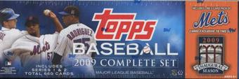 2009 Topps Factory Set Baseball (Box) (New York Mets)