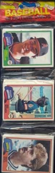 1981 Topps Baseball Rack Pack