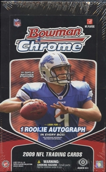 2009 Bowman Chrome Football Hobby Box