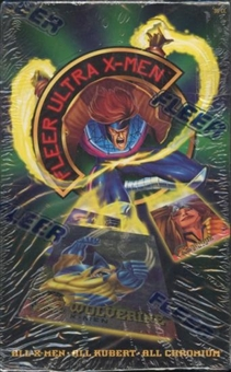 Fleer Ultra X-Men Hobby Box (1995 Fleer)