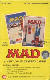 Mad Preview Issue Hobby Box (1992 Lime Rock)