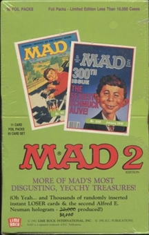 Mad Series 2 Hobby Box (1992 Lime Rock)