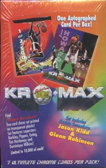 1994/95 Signature Rookie Kromax Basketball Hobby Box