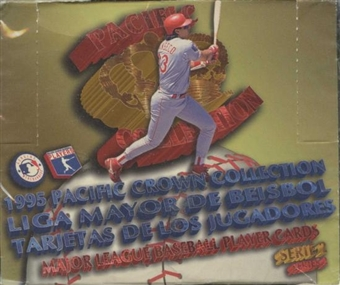 1995 Pacific Crown Collection Series 2 Spanish Baseball Hobby Box