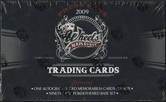 2009 Press Pass Wheels Main Event Racing Hobby Box