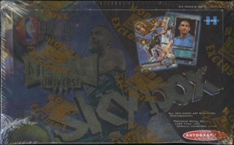 1997/98 Skybox Metal Basketball Hobby Box