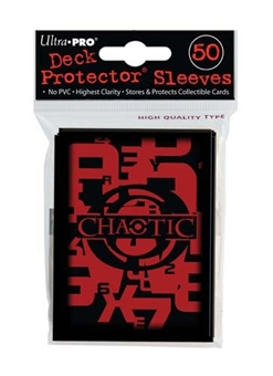 Ultra Pro Chaotic Standard Deck Protectors 50 Count Pack - Regular Price $4.99 !!!