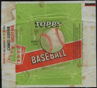 1955 Topps Baseball 5 Cent Wrapper
