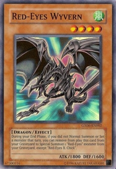 Yu-Gi-Oh Promo Single Red-Eyes Wyvern Super Rare (GX06-EN002)
