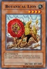 Yu-Gi-Oh Crossroads of Chaos Single Botanical Lion Super Rare