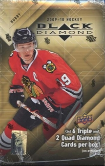 2009/10 Upper Deck Black Diamond Hockey Hobby Box
