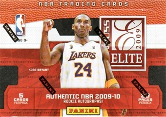2009/10 Panini Elite Basketball Hobby Box