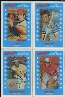 1982 Kellogg's Baseball Set (NM-MT)