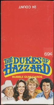 Dukes of Hazzard Rack Box (1981 Donruss)