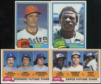 1981 Topps Baseball Complete Set (NM-MT)
