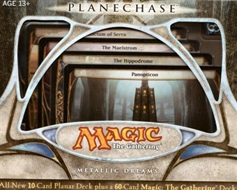 Magic the Gathering Planechase Precon Metallic Dreams Deck