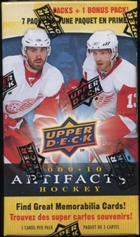 2009/10 Upper Deck Artifacts Hockey 8-Pack Box