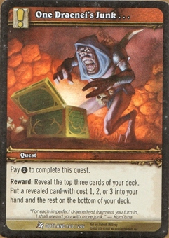 WoW Fires of Outland Single One Draenei's Junk FOIL (NM)
