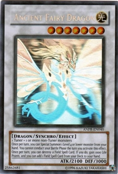Yu-Gi-Oh Ancient Prophecy Single Ancient Fairy Dragon Ghost Rare