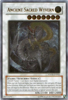 Yu-Gi-Oh Ancient Prophecy Single Ancient Sacred Wyvern Ultimate Rare