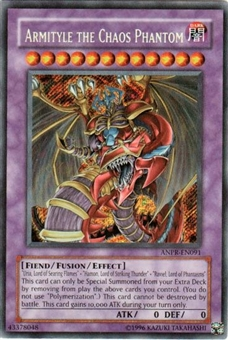 Yu-Gi-Oh Ancient Prophecy Single Armityle the Chaos Phantom Secret Rare