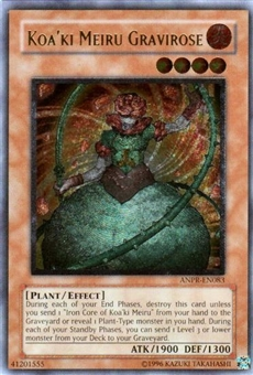 Yu-Gi-Oh Ancient Prophecy Single Koa'ki Meiru Gravirose Ultimate Rare