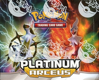 Pokemon Platinum Arceus Theme Deck Box