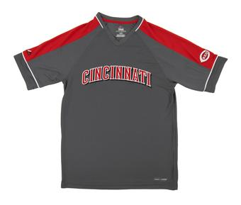 Cincinnati Reds Majestic Dominant Campaign Red Performance Tee Shirt (Adult Medium)