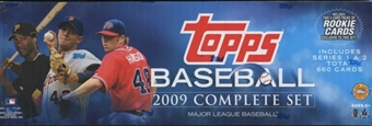 2009 Topps Factory Set Baseball Holiday (Box) Set