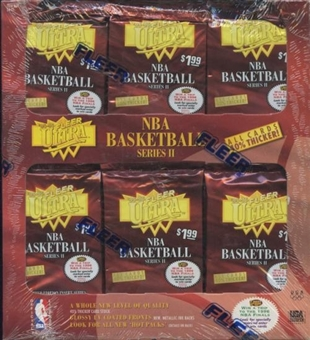 1995/96 Fleer Ultra Series 2 Basketball Jumbo Box