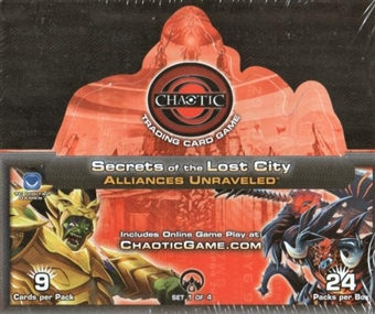 Chaotic Secrets of the Lost City Alliances Unraveled Booster Box