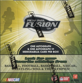 2009 Press Pass Fusion Racing Hobby Box