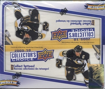 2009/10 Upper Deck Collector's Choice Hockey Hobby Box