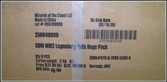 WOTC Dungeons & Dragons Miniatures Legendary Evils Booster Case (8 ct.)