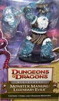 WOTC Dungeons & Dragons Miniatures Legendary Evils Booster Pack (Box)
