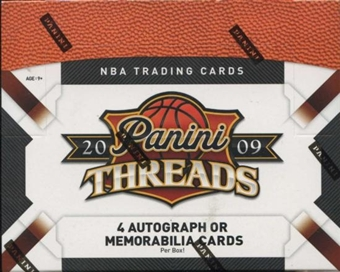2009/10 Panini Threads Basketball Hobby Box