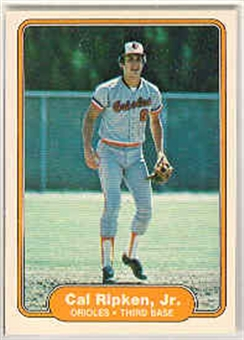 1982 Fleer Baseball #176 Cal Ripken Jr. Rookie (Lot Of 13)