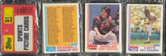 1982 Topps Baseball Rack Pack (Cal Ripken Jr. Rookie!)