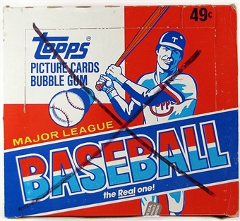 1982 Topps Baseball Cello Box (Cal Ripken Jr. Rookie!)