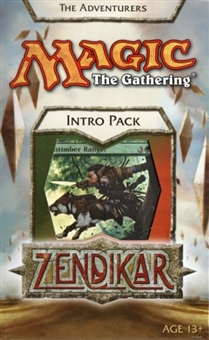 Magic the Gathering Zendikar Intro Pack - The Adventures