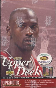 1995/96 Upper Deck Series 2 Basketball Retail Box