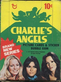 Charlie's Angels Series 4 Wax Box (1977-78 Topps)