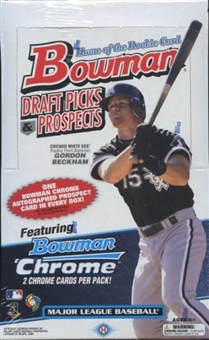 2009 Bowman Draft Picks & Prospects Baseball Hobby Box