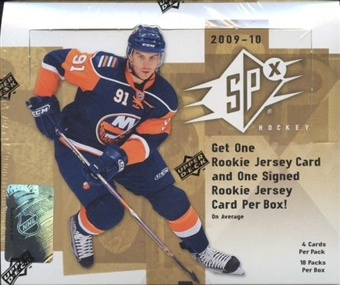 2009/10 Upper Deck SPx Hockey Hobby Box