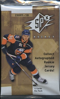 2009/10 Upper Deck SPx Hockey Hobby Pack