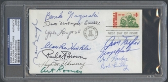 First Day Cover Signed by Multiple HOF's Nagurski Baugh PSA/DNA *9562