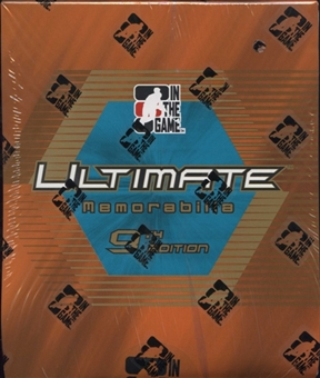 2009/10 ITG Ultimate Memorabilia 9th Edition Hockey Hobby Box